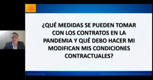 ¿Qué medidas se pueden tomar con los contratos en la pandemia y qué debo hacer si modifican mis condiciones contractuales?