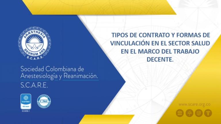 Tipos de contrato y formas de vinculación en el sector salud en el marco del trabajo digno - Dra. Claudia Alejandra
