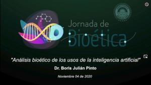 """3ra jornada de bioética de la conferencia """"Análisis bioético de los usos de la inteligencia artificial"""
